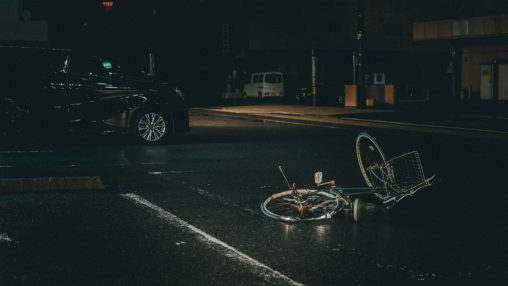 ongeluk fiets auto